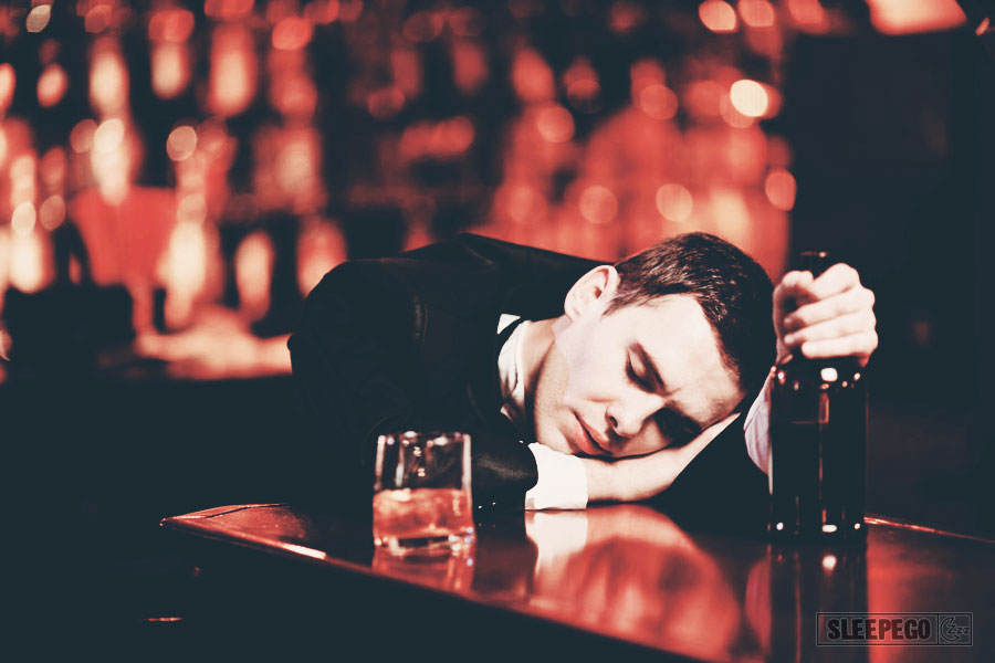 Фото спит после пьянки